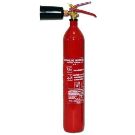 2 kg CO2 gázzal oltó tűzoltó készülék CKM2-es