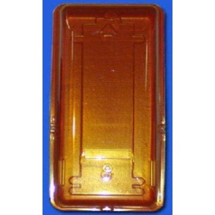 Tűzoltó készülék tartó doboz piros-sárga, KDK 2D-P6