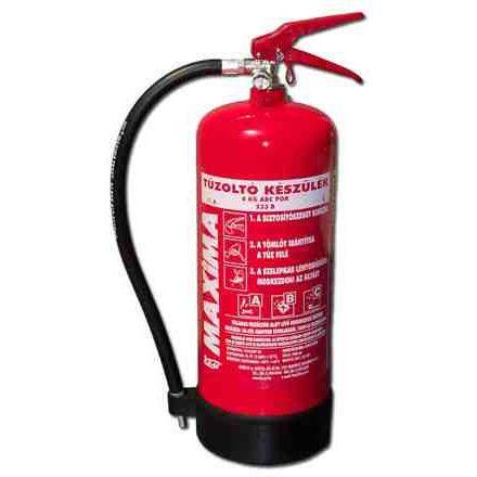 12 kg-os ABC porral oltó tűzoltó készülék PKM12-es