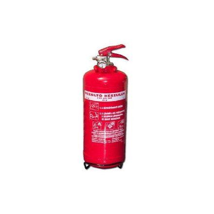 2 kg ABC porral oltó tűzoltó készülék PKM2A