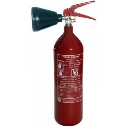 Tűzoltó készülék, Széndioxid gázzaloltó, 2kg-os cerco2