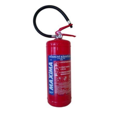 <h3>6 kg ABC porraloltó, nagy oltóképességű poroltó tűzoltó készülék</h2>