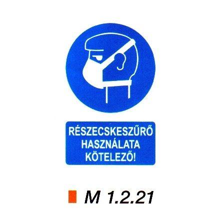 Részecskeszűrő használata kötelező m 1.2.21