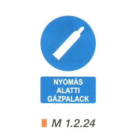 Nyomás alatti gázpalack m 1.2.24