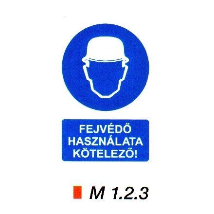 Fejvédő használata kötelező! m 1.2.3