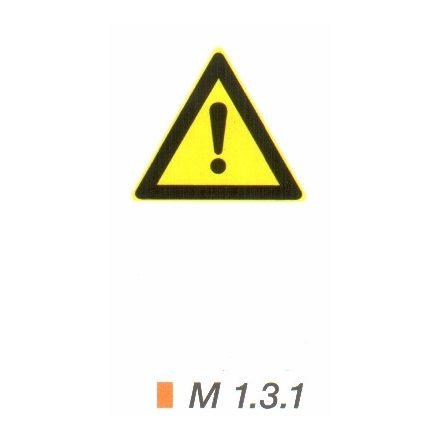 Általános veszély m 1.3.1