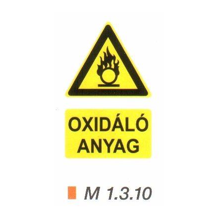 Oxidáló anyag m 1.3.10