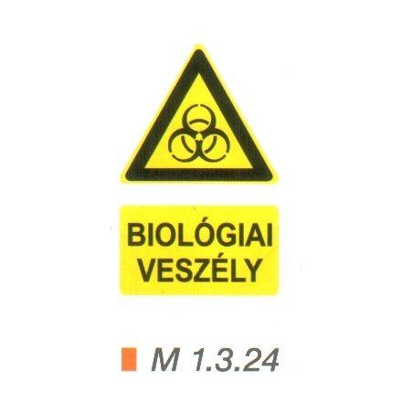 Biológiai veszély m 1.3.24