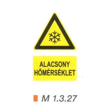 Alacsony hőmérséklet m 1.3.27