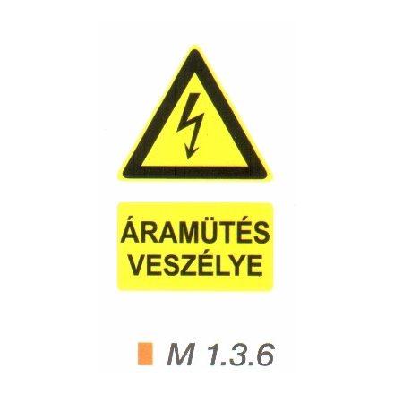 Áramütés veszélye m 1.3.6