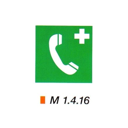 Vészbejelentő telefon m 1.4.16