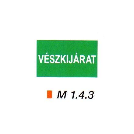 Vészkijárat m 1.4.3