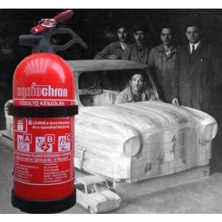 Ogniochron GP-1z 1 kg ABC porraloltó tűzoltó készülék