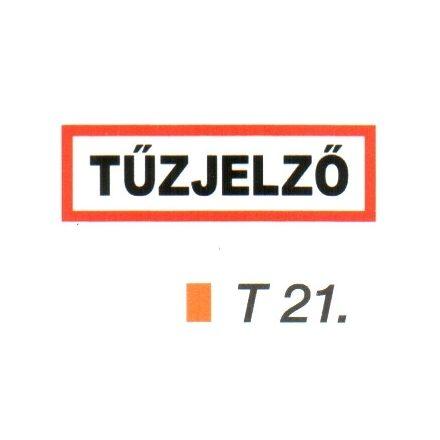 Tüzjelzö piktogram t 21.
