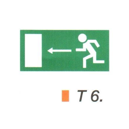 Menekülési út balra t 6
