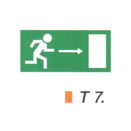 Menekülési út jobbra t 7