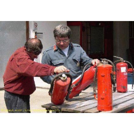 Tűzoltó készülék ellenőrzés
