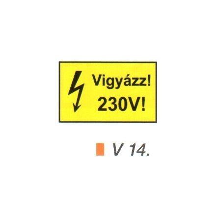 Vigyázz! 230 V! v 14